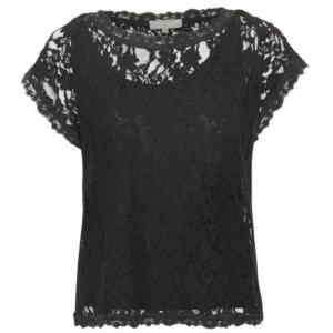 cream vivi lace top 10604513 juul-webshop.nl