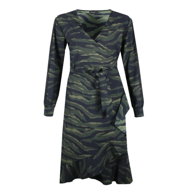 G-Maxx jurk anastasia camouflage