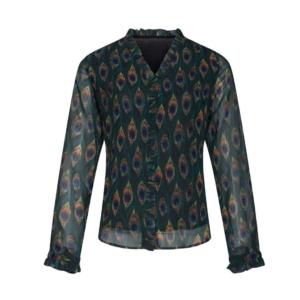 Smashed lemon blouse 20533