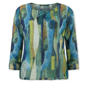 Lizzy&Coco top Salie nature blue