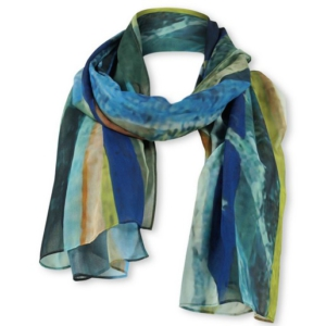 Lizzy&Coco shawl opal nature blue