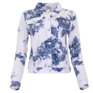 maicazz jacket seresa blue leaf
