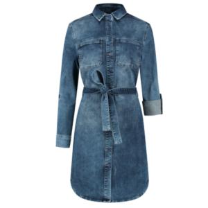 Para-Mi jeans jurk Sammy juul-webshop.nl