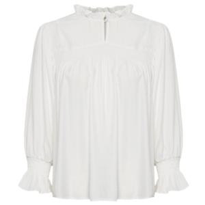 cream blouse 10607922 juul-webshop.nl