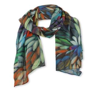 Lizzy&Coco shawl OLLI Flora juul-webshop.nl